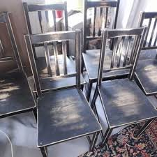 distressed wood table and chairs black distressed dining chairs jand home developer