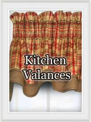 Kitchen Valances by Kitchen Curtains Cafe Tiers Valances Swag Curtain Pair