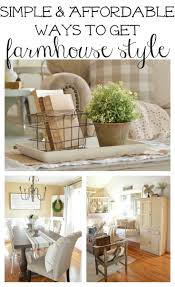 How To Decorate A Side Table by 17 Best Decorating Ideas On Pinterest Farmhouse Style House