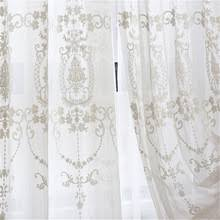 Sheer Embroidered Curtains Popular Fabric Sheer Curtains Buy Cheap Fabric Sheer Curtains Lots