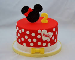 Red Minnie Mouse Cake Decorations Gallery Custom Cake Toppers Cake In Cup Ny