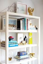 west elm white bookcase shelf vignette west elm live pinterest book shelves