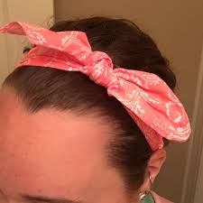 claires hair accessories 67 s accessories pink bandana headband from s