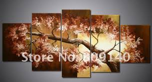 painting for home decoration 2018 african landscape oil painting canvas big scenery artwork high