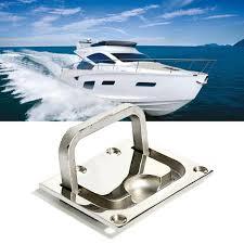 marine cabinet hardware pulls jeazea new 316 stainless steel flush hatch locker cabinet lift pull