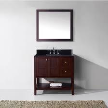 36 Bathroom Vanity With Granite Top by Bathroom Vanities 36 U0027 U0027 Winterfell Single Square Sink Bathroom