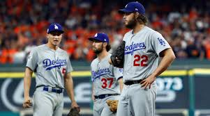 dodgers astros wonder about baseball texture after game 5