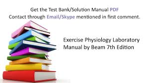 practice test bank for exercise physiology laboratory manual by