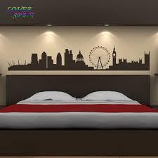 Home Decor Shops London Aliexpress Com Buy London Landmarks Wall Sticker Skyline Wall