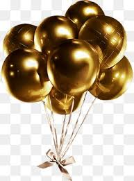 gold balloons gold balloon png images vectors and psd files free on