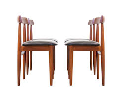 hans olsen teak dining chairs for frem rojle u2013 danish modern l a