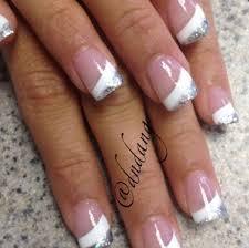 35 white silver nail designs picsrelevant