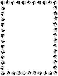 free animal borders clip art page borders and vector graphics