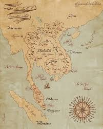 South East Asia Map South East Asia Map By Alizarinee On Deviantart