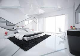 chambre moderne blanche chambre à coucher blanche avec des accents colorés