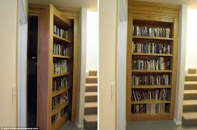 Bookcases With Doors Uk Real Panic Rooms For The Rich And Chambers