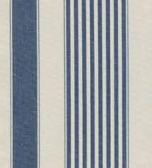 Blue And White Striped Upholstery Fabric Baron Lake Stripe Fabric A Good Weight Cotton Stripe In Grey Blue
