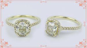 cushion cut engagement rings with halo conflict free vintage cushion cut engagement rings
