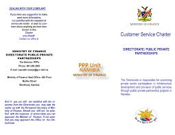 ppp customer service charter grn portal