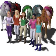 horseland 19erina96 exchange community sims 3