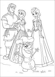 frozen coloring pages print coloringstar