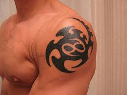 cancer zodiac sign tattoos great tribal style cancer tattoo on