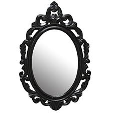 Baroque Home Decor Amazon Com Stratton Home Decor Shd0059 Baroque Mirror Black