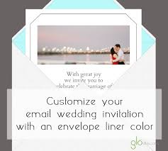 E Wedding Invitations New Email Wedding Invitations Design Template Features