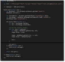javascript and excel blackrock engineering