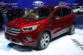 ford escape 2017 ford escape debuts with new look more tech