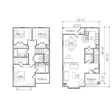 narrow floor plans porch glamorous home plan with porch design home floor plans