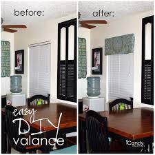 window valance ideas for kitchen easy diy window valance icandy handmade