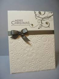 Decoration With Christmas Cards by Best 25 Embossed Christmas Cards Ideas On Pinterest Christmas
