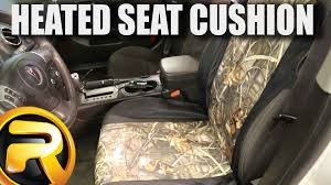 how to install proheat heated seat cushion youtube