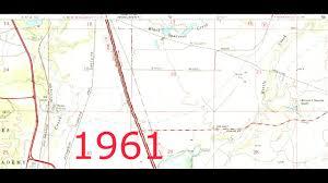 Colorado Springs Colorado Map by N Colorado Springs Map 1961 To 1986 Youtube