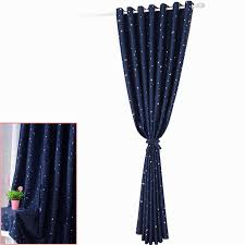 Blackout Window Curtains 1pc 2016 Modern Little Stars Blackout Window Curtains For Living