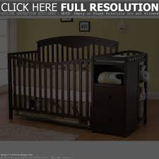 Cribs With Attached Changing Table by Crib With Built In Changing Table All About Crib