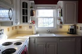 kitchen graceful painted kitchen cabinets with white appliances