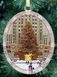 amazon com new york city christmas ornament rockefeller center