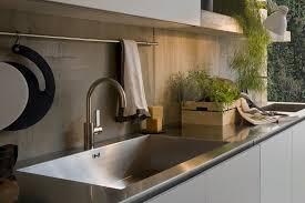 Stainless Steel Kitchen Sink And Counter Top Interior Design Ideas - Italian kitchen sinks