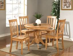 Round Wooden Kitchen Table And Chairs Dining Rooms - Kitchen table round