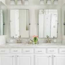 Pottery Barn Bathroom Ideas Kensington Pivot Mirror Large Rectangle Chrome Finish
