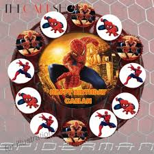 spiderman hero at 78 90 per set the cake shop