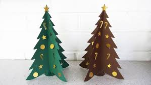 Christmas Tree Ornament Templates Paper Christmas Tree Diy Learn How To Make The Christmas Craft