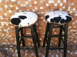 Round Bar Stool Covers Cowhide Bar Stool Covers Cabinet Hardware Room Stunning
