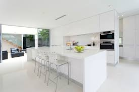 Modern White Kitchen Design White Modern Kitchens Modern All White Kitchen Kitchen And Decor