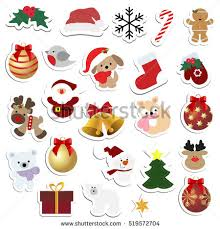 christmas stickers christmas stickers free vector stock graphics images