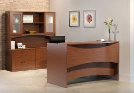 Receptionist Desk Furniture Furniture Fascinating This Contemporary Reception Desk Was