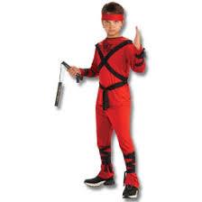 Halloween Costume Kids Red Ninja Kid Costume Kids Ninja Halloween Costumes Japanese