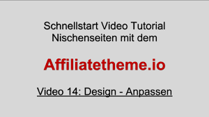 design anpassen 14 affiliate theme design anpassen
